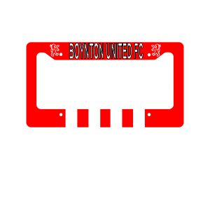 Boynton United Custom License Plate Frame LicenseFrame-BU