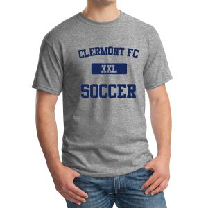 Clermont FC T-Shirt - Heather Grey G500HGrey