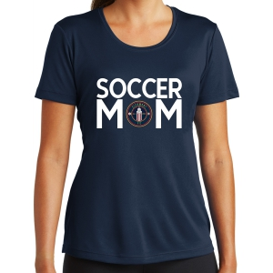 Clermont FC Women's Soccer Mom Performance Shirt - Navy LST350-CFC