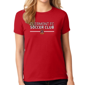 Clermont FC Women's T-Shirt - Red G5000LRd
