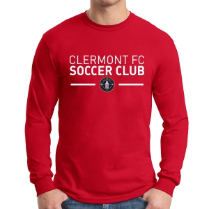 Clermont FC Long Sleeve T-Shirt - Red G5400Rd