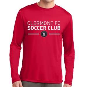 Clermont FC Long Sleeve Performance Shirt - Red ST350LSRd