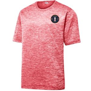 Clermont FC Heather Performance Shirt - Deep Red/Electric  ST390-CFC