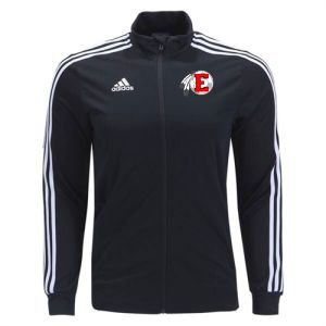 Edgewood High School adidas Tiro 19 Training Jacket - Black/White EWHS-DJ2594