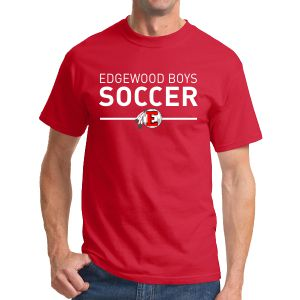 Edgewood High School T-Shirt - Red EWHS-G500-Rd