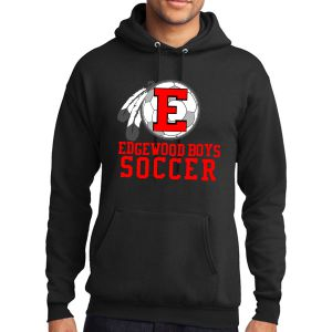Edgewood High School Hooded Sweatshirt - Black EWHS-PC78H