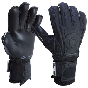 Elite Sport Solo Goalkeeping Gloves - Black BLACKSOLO