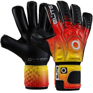 Elite Sport Eagle Goalkeeping Gloves - Black/Red/Yellow EAGLE