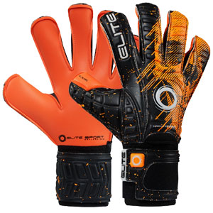 Elite Sport Ork Goalkeeping Gloves - Orange/Black ELITEORK
