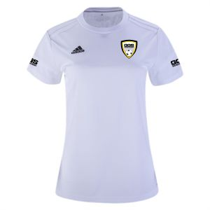 Golden Goal Sports adidas Women's Squadra 17 Jersey - White/White GGS-BJ9205
