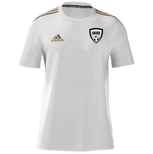Golden Goal Sports adidas Youth mi Squadra 17 Jersey - White/Gold GGS-CF0426WG