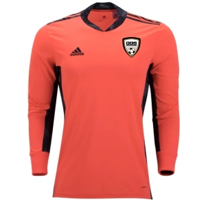 Golden Goal Sports adidas adiPro 20 Youth Goalkeeper Jersey - Coral GGS-FI4202