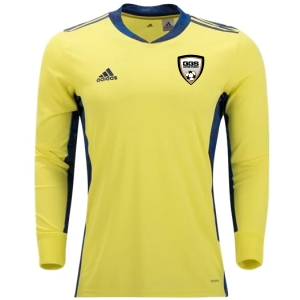 Golden Goal Sports adidas adiPro 20 Youth Goalkeeper Jersey - Yellow/Navy GGS-FI4199