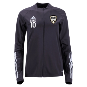 Golden Goal Sports adidas Women's Condivo 20 Training Jacket - Black/White GGS-FS7104