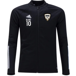 Golden Goal Sports adidas Condivo 20 Training Jacket - Black/White GGS-FS7108