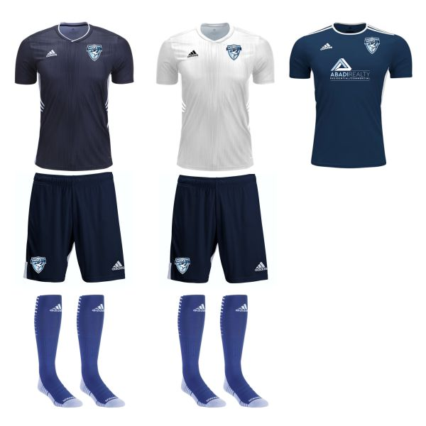 Florida Hawks FC - Adult Required Kit FHFC-ADKT