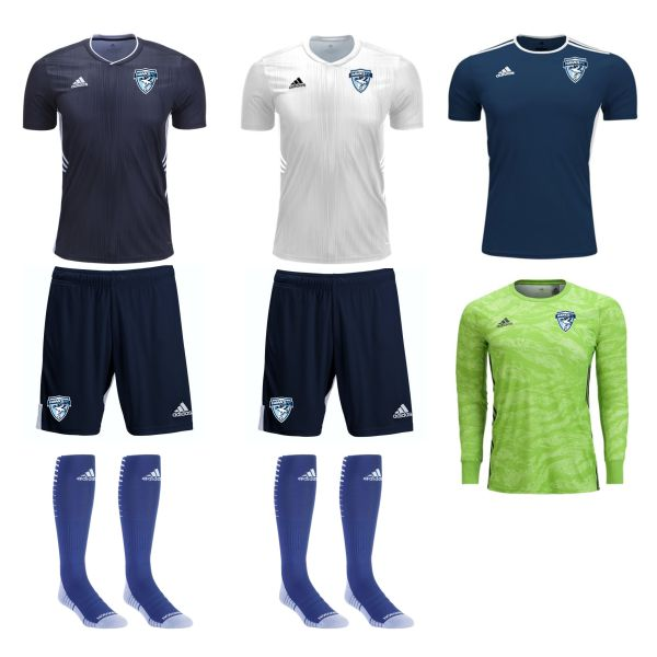 Florida Hawks FC - Youth Required Goalkeeping Kit FHFC-YTGKKT