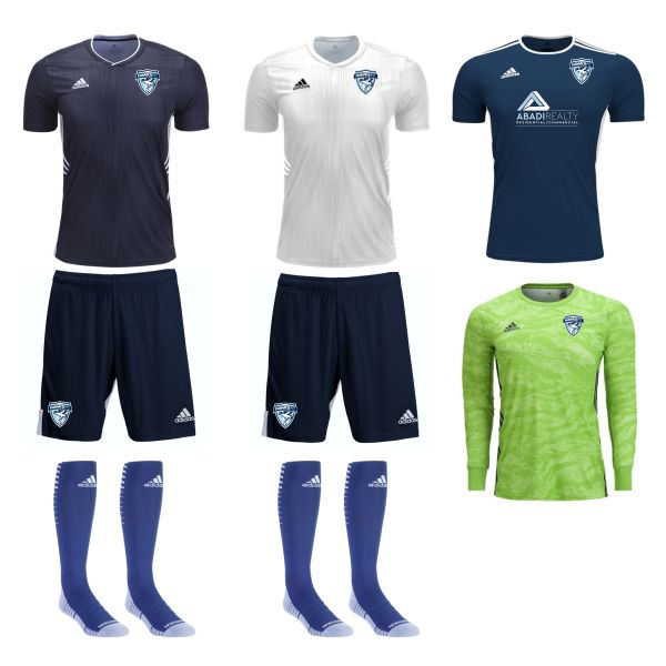 Florida Hawks FC - Adult Goalkeeper Required Kit FHFC-AGKKT
