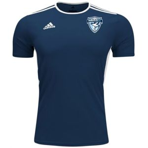 Florida Hawks FC adidas Youth Entrada 18 Jersey - Navy/White FHFC-CF1047
