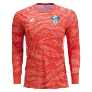Florida Hawks FC adidas adiPro 19 Youth Goalkeeper Jersey - Semi Solar Red FHFC-DP3142