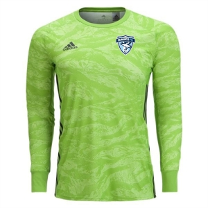 Florida Hawks FC adidas adiPro 19 Youth Goalkeeper Jersey - Semi Solar Green FHFC-DP3143