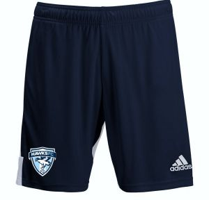 Florida Hawks FC adidas Youth Tastigo 19 Shorts - Navy/White FHFC-DP3172