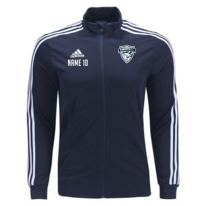 Florida Hawks FC adidas Tiro 19 Training Jacket - Navy/White FHFC-DT5272