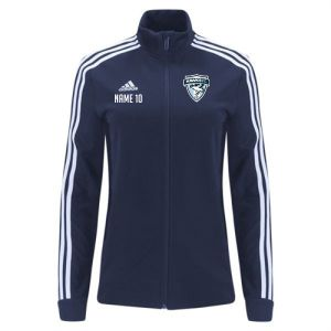 Florida Hawks FC adidas Women's Tiro 19 Training Jacket - Navy/White FHFC-DT5983