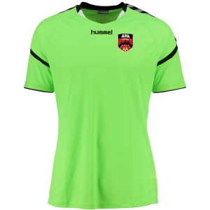 Atlanta Futsal Hummel Authentic Charge Jersey - Neon Green/Black AF-30011