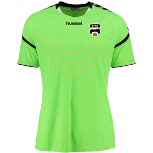 Birmingham Futsal Hummel Authentic Charge GK Jersey - Neon Green/Black BF-30011