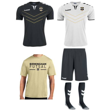 Birmingham Futsal - Adult Or Youth Required Kit BF-KIT