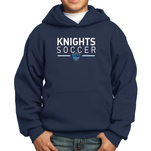 Inter United Academy Youth Hooded Sweatshirt - Navy PC90YH-IUA