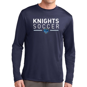 Inter United Academy Long Sleeve Performance Shirt - Navy ST350LS-IUA