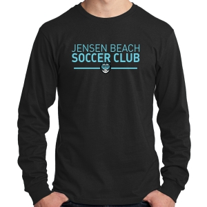 Jensen Beach Soccer Club Long Sleeve T-Shirt - Black JB-PC54LS-B