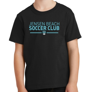 Jensen Beach Youth T-Shirt - Black JB-PC54Y-Blk