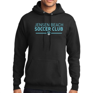 Jensen Beach Hooded Sweatshirt - Black JB-PC78H