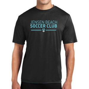 Jensn Beach Soccer Club Performance Shirt - Black JB-ST350Blk-Z