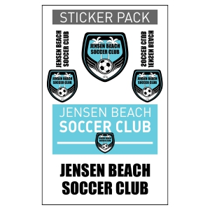 Jensen Beach Sticker Pack JB-STICKER