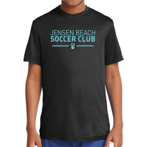 Jensen Beach Youth Performance Shirt - Black JB-YST350Blk