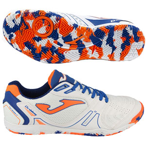 Joma Dribling 2002 IC - White/Orange/Blue Indoor DRIS2002