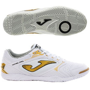 Joma Dribbling 2022 IC - White/Gold Indoor DRIW2022