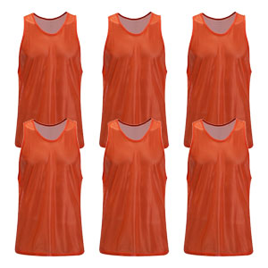 Kwik Goal Training Vest - Orange - Pack Of 6 19A1-O6
