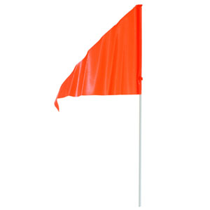 2 Piece Training Flags - Neon Orange 93489