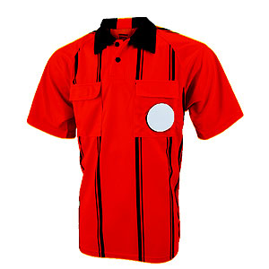 Kwik Goal Premier Referee Jersey - Red 15B6-Red