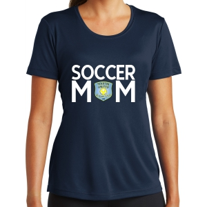 Martin United Women's Soccer Mom Performance Shirt - Navy LST350-MU