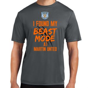 Martin United Beast Mode Shirt - Iron Grey MU-ST350
