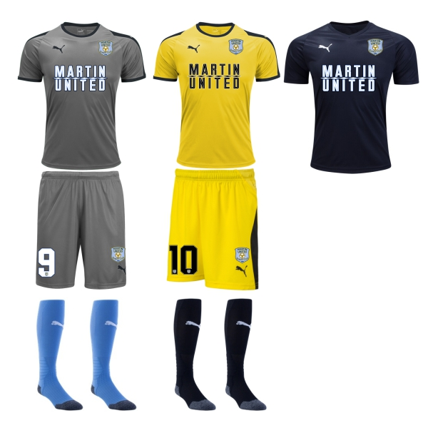 Martin United Soccer Club - Adult Required Kit MUSC-ADKT19