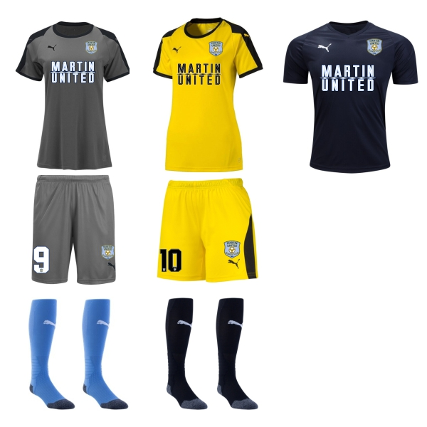 Martin United Soccer Club - Women Required Kit MUSC-WMKT19