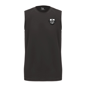 Massive Premier Academy Core Sleeveless Youth Tee - Black B-213000