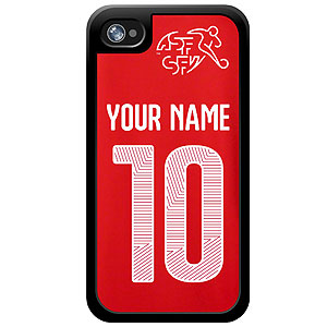 Switzerland Custom Player Phone Cases - iPhone (All Models) iph-swit-plyr